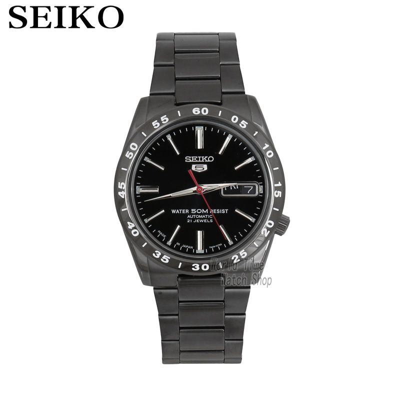SEIKO Shield No.5 Automatic Mechanical Men 's Watch Gold Strap White Strap SNKE04K1 SNKE03J1 SNKE04J1 SNKE03K1 limited edition seiko 5 sports day date men s automatic mechanical watch srp723