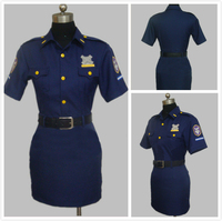 Free Shipping Free Iwatobi Swim Club Gou Matsuoka Cosplay Costume Police Uniform Dress Hat Full Set