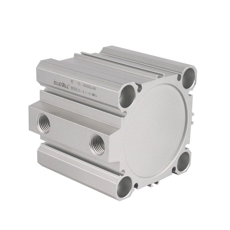CQ2B63*20 Pneumatic Cylinder Standard M5 80~90mm запонка arcadio rossi запонки со смолой 2 b 1026 20 e