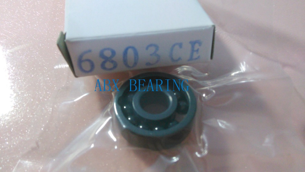 6803 full SI3N4 ceramic deep groove ball bearing 17x26x5mm 61803 MT bearing, bike bearing free shipping 6803 full si3n4 ceramic deep groove ball bearing 17x26x5mm 61803 bearing p5 abec5