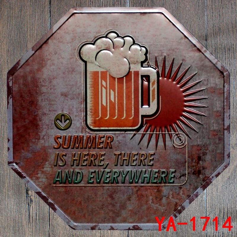 Tin Antique Metal Signs Home Pub Bar Wall Decor US Army Tank Poster