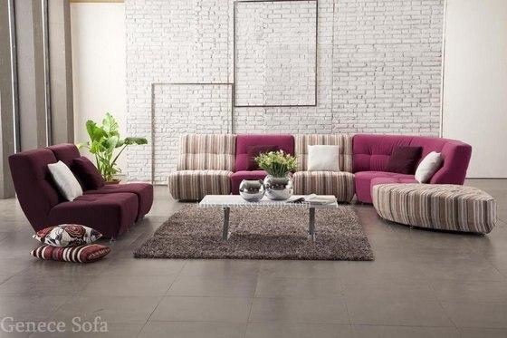 Best seller divano componibile in tessuto, colorato singola sedia in ...