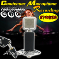 LYK-700 Studio Recording Condenser Microphone Professional Broadcasting Mic For PC Conference KTV Karaoke Computer Studio Stage