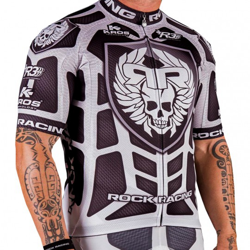 Professional crew racing biking Jersey 2019 Summer time 100% Polyester biking clothes outside sports activities Ropa ciclismo bicycle shirt Put on whiht Biking Jerseys, Low-cost Biking Jerseys, Professional crew...
