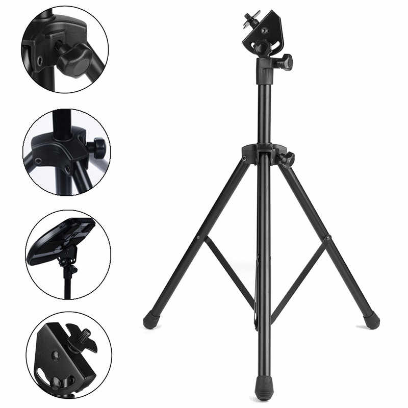 Adjustable Metal Practice Training Three-legged Drum Pads Cymbal Stand Hardware Mount Braced Drum Holder Tripod With Bag Parts Percussion Instruments
