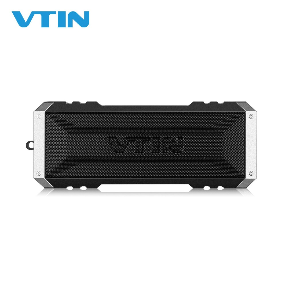 Original VTIN Bluetooth 4.0 Speaker 20W Outdoor Waterproof Wireless Portable Speaker Stereo Music Super Bass 25 Hours Play Time
