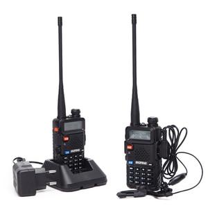 Image 2 - BaoFeng UV 5R VHF/UHF136 174Mhz & 400 520Mhz Dual Band ווקי טוקי שני רדיו דרך Baofeng כף יד UV5R CB נייד רדיו חם