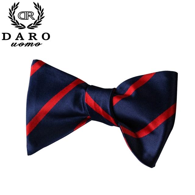 Top de vendas Striped Bow Tie for Men borboleta Bowtie bolso praça Handkerchief Set casamento laços para homens de negócios Formal - 6