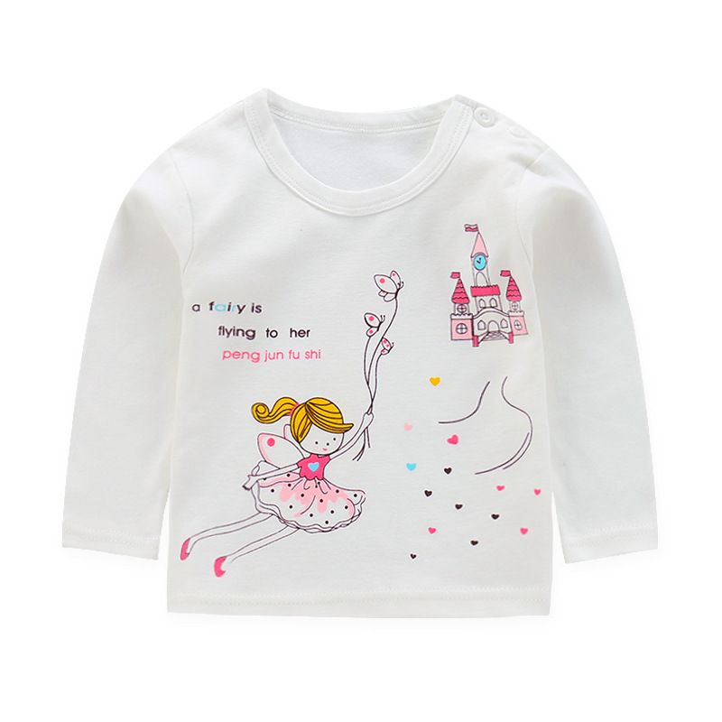 baby boy clothes long sleeve kidsT shirt quality 100 cotton children cartoon clothes tops tshirt kids costume girls tops in T Shirts from Mother Kids