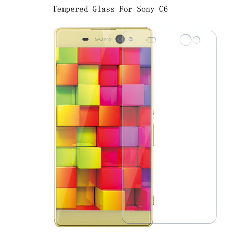 Tempered Glass Film For Sony Xperia C6 ultra / Xperia XA Ultra 2.5D 9H Premium Protector Screen Cover For Sony Xperia XA Ultra