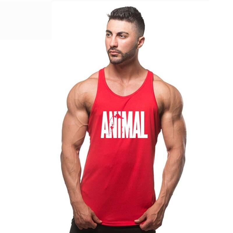 Animal brand clothing Golds Stringer   Tank     Top   Mens Brand Singlet   Tops   Bodybuilding and Fitness Shirt Regatas Clothes Vest Men