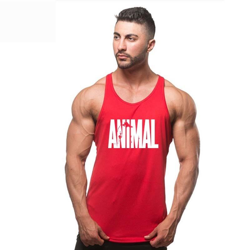 Animal Brand Clothing Stringer Tank Top Mens Brand Singlet Tops Bodybuilding And Fitness Shirt Regatas Clothes Vest Men