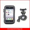 Moto de la motocicleta del manillar impermeable caja del sostenedor del montaje para el iphone 6/6 s, samsung galaxy s3/s4 4.8 pulgadas teléfonos inteligentes
