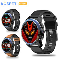 KOSPET Optimus 2GB 16GB 8.0MP 800mAh IP67 Waterproof Dual Systems 4G Smart Watch Men 1.39 454*454 Android7.1.1 smartwatch phone