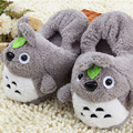 2016 Winter New Women&men Household Shoes Manufacturers Hot Selling Cartoon Totoro Figurines Lovely Fluffy Warm Cotton Slippers