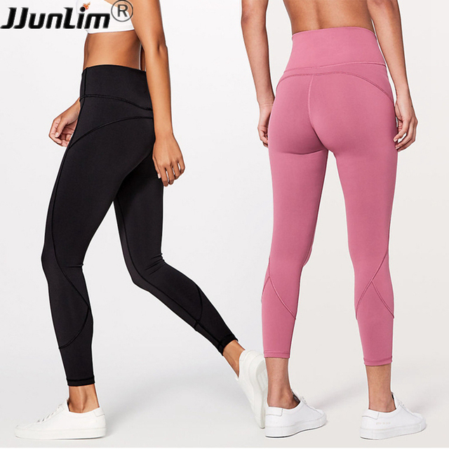 Women Gym Yoga Pants High Waist Seamless Leggings For Fitness Push Up Compression Workout Leggings Stretch Sports Running Pants by J Jun Li M