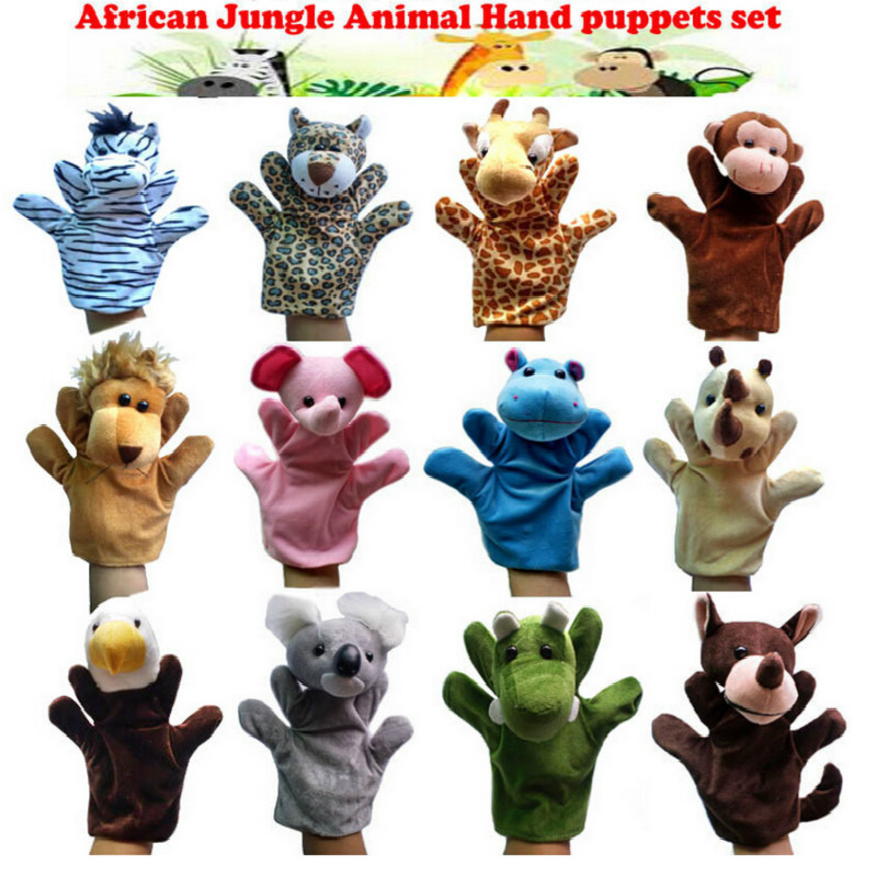 2016-Hot-Products-Jungle-Book-props-0-24-months-Baby-toys-Animal-hand-puppet-LionstigersducksmonkeysgiraffesrabbitsKoala-1