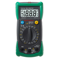 Wholesale Retail 2000 Counts With Electroprobe Digital Multimeter Temp MS8233C Free Shipping
