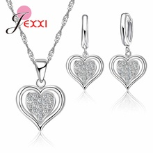 Earring Adornment Jewelry-Sets Necklace Pendant Gifts 925-Sterling-Silver for Wife Excellent