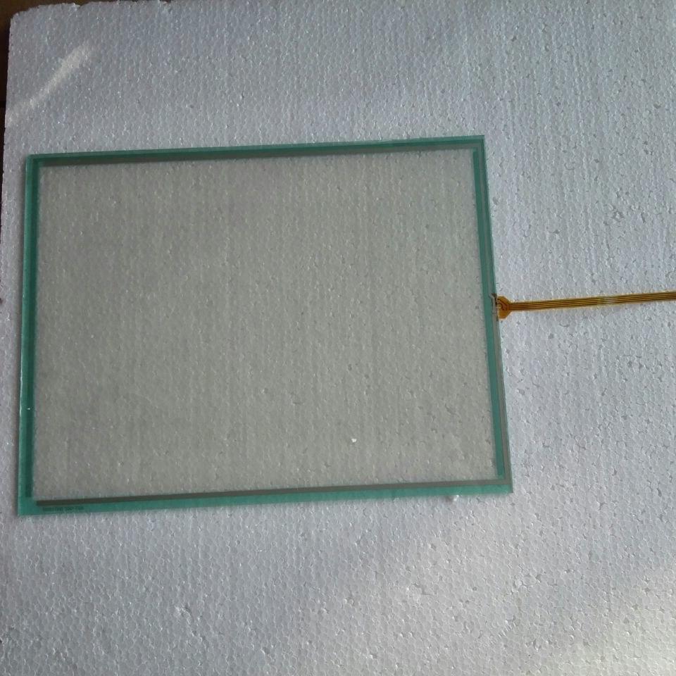 QST-150A075H 15 pouces 4 fils tactile panneau de verre pour la réparation de panneau HMI ~ faites-le vous-même, nouveau et avoir en stock