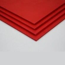 Teraysun 2pcs/lot  300x400x3mm PVC foam board plastic flat sheet model plate