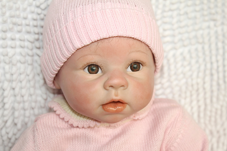 NPK new 22 silicone reborn baby bebes soft body open eyes dolls 55cm babies real doll toy Birthday Gift Alive Lifelike toys
