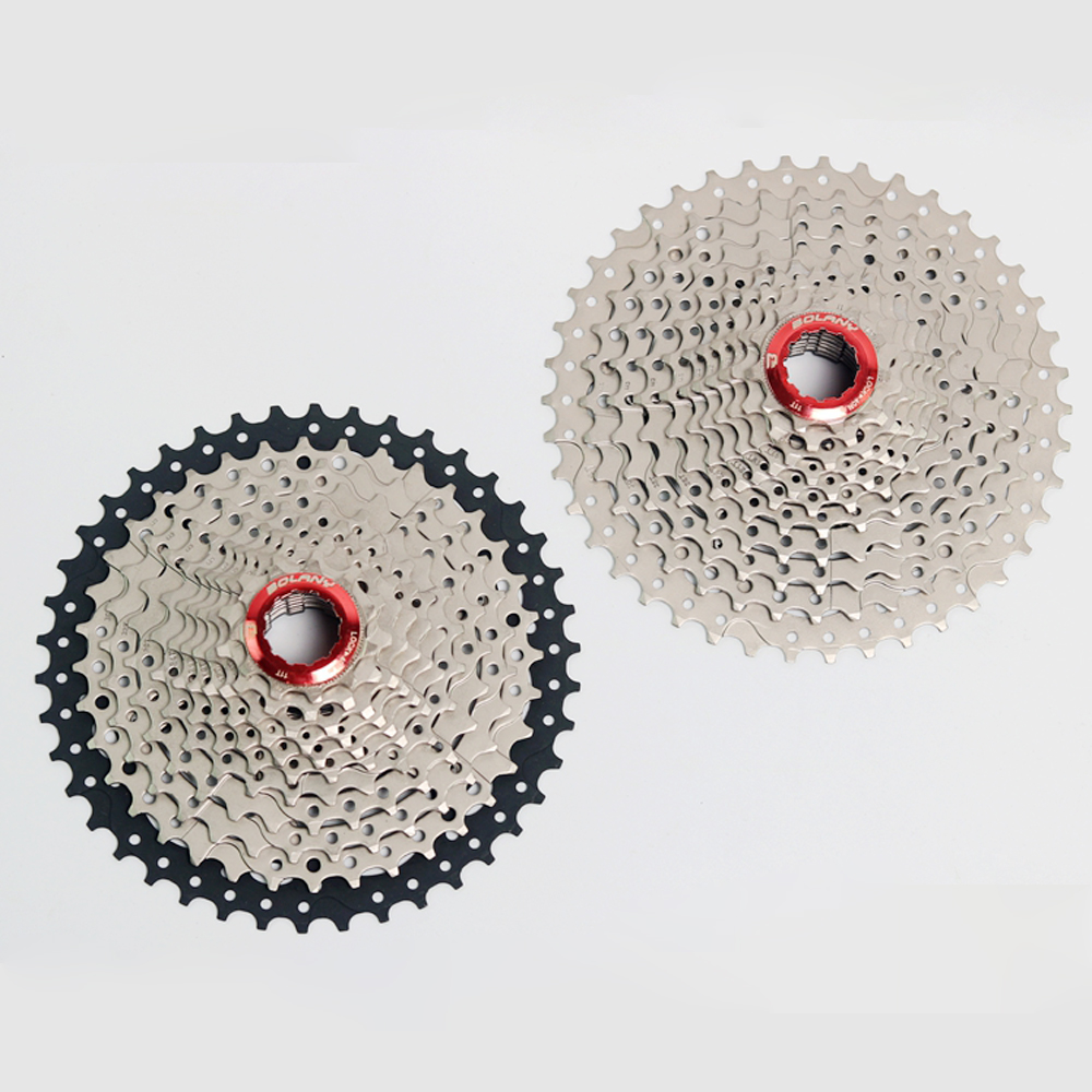 BOLANY bicycle freewheel 10 Speed mtb freewheel Mountain Bicycle Cassette bicycle parts 11-42T Sprockets for Shimano m590 m6000 ztto mountain bike mtb 10 speed cassette 11 46t bicycle freewheel sprockets bike parts for shimano m590 m6000 m610 m780 x7 x9