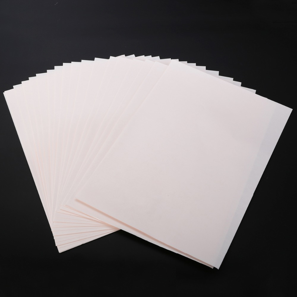 20pcs Iron On T-shirt Light Fabric A4 Heat Transfer Paper For Inkjet Printer Print Your Own Design For Non-Cotton Fabric