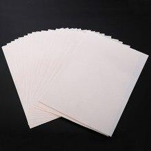 229cc7e2 20pcs Iron On T-shirt Light Fabric A4 Heat Transfer Paper For Inkjet Printer  Print