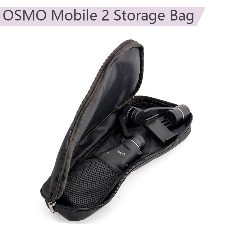 Portable Carrying Case Universal Protective Storage Bag Handbag for DJI Osmo Mobile 2 Zhiyun Smooth 4 Feiyu Phone StabilizerPortable Carrying Case Universal Protective Storage Bag Handbag for DJI Osmo Mobile 2 Zhiyun Smooth 4 Feiyu Phone Stabilizer
