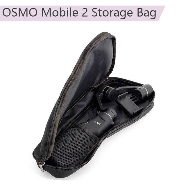 Taşınabilir taşıma çantası evrensel saklama çantası çanta DJI OM 4 Osmo mobil 3 Zhiyun pürüzsüz 4 Feiyu sabitleyici aksesuarı