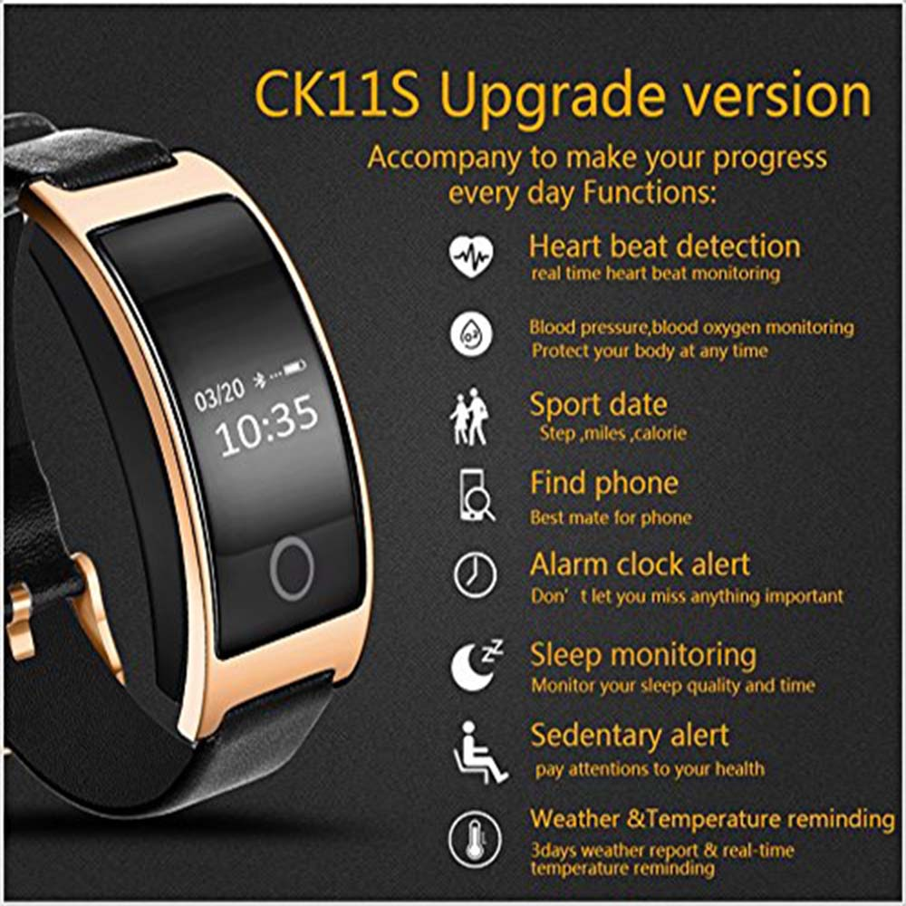 KF1X Waterproof Smart Wristband Blood Pressure Oxygen Pedometer Heart Rate Monitor Bracelet for Huawei Ascend P10 Plus P9 Plus