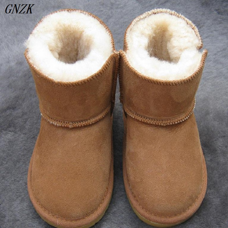 2017 new  Baby Boots Winter Sheep Skin Leather and Fur Baby Shoes Waterproof Infant Newborn Leather Boots Girls Boys Shoes baby boots winter boy snow boots brand newborn leather baby boots for girl baby shoes infant kid shoes first walkers moccasins