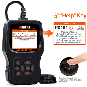 Image 4 - Ancel EU510 OBD2 escáner lector de código de motor Auto control de batería scaner automotriz ODB OBD 2 escáner automotriz herramienta de diagnóstico de coche PK ELM327 v1.5