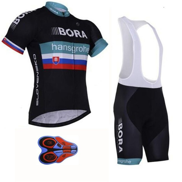2018 BORA Cycling Jersey Bicycle bib/shorts set Short Sleeve Cycling Clothing MTB Bike Clothes Maillot Ropa Ciclismo Hombre 2017pro team lotto soudal 7pcs full set cycling jersey short sleeve quickdry bike clothing mtb ropa ciclismo bicycle maillot gel