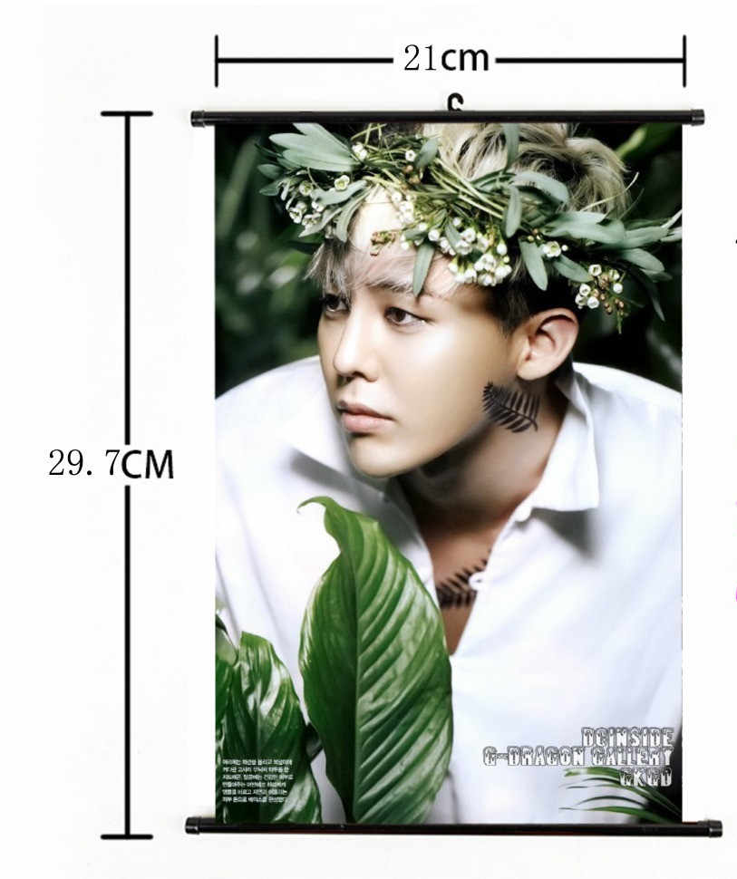 a2e3afff4 Detail Feedback Questions about Free Shiping K POP Bigbang G dragon Wall  Hanging Poster GD TOP EXO Painting Wall Picture Album 21cmx30cm on  Aliexpress.com ...