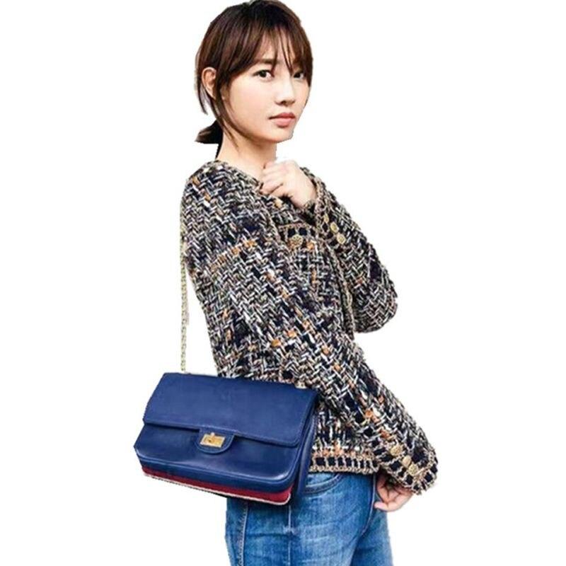 79205cb4b7a09d ୧ʕ ʔ୨ New! Perfect quality tweed jacket woolen coat and get free ...