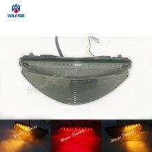 Waase задние стоп Сигналы поворота Интегрированный Светодиодный светильник дыма для 2008 2009 2010 2011 2012 2013 YAMAHA Райдер SCL XV1900