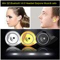 Mini Bluetooth Headset 4.0 Earphone Noise cancellation Headphone Stereo Wireless Earphones For Samsung S6 Note 5 iPhone 6 Huawei