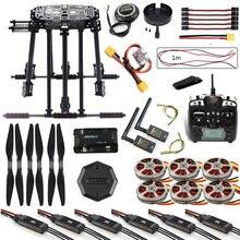 Kit de cadre ZD850, APM2.8, commande de vol M8N GPS Flysky TH9X, télécommande 3dr, moteur télémétrique ESC pour hexcopter RC F19833 G