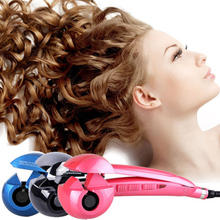 Electric Automatic Curling Iron Ceramic Corrugated Curler Salon DIY Steamer Heating Hair Curly Anti-perm Design Wave