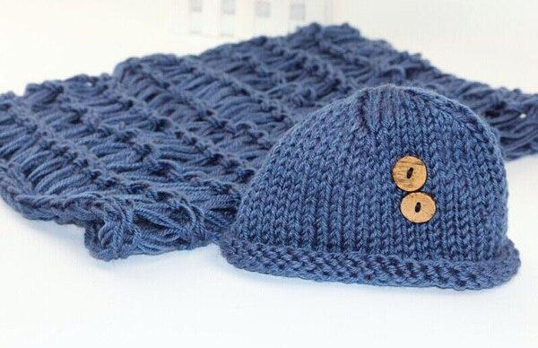 Newborn prop baby crochet costume photography beanies and blanket handmade knitting atrezzo fotografia china distributor product