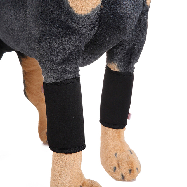 Dog Canine Front Leg Compression Brace Wrap Sleeve Protects Wounds Brace Breathable Injury Recover Legs Dog Protector Support MQ