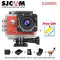 Original sjcam 24fps sj5000x elite câmera wifi 4 k & 2 k 30 fpsgyro DV esportes 2.0 novatek 96660 Mergulho 30 m À Prova D' Água sj 5000x Cam