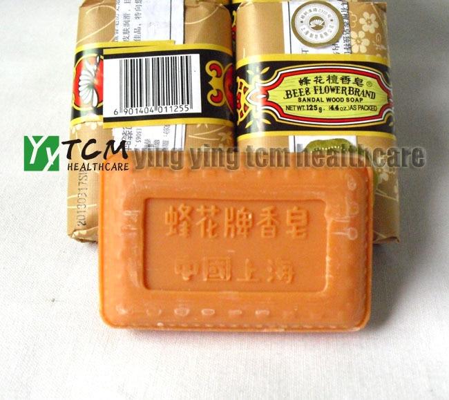 Wholesale Bee Flower Sandalwood Soap Bath Soap125g Per Pcs Old China Shanghai Brand