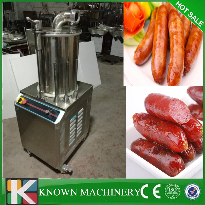 304 Stainless Steel sausage making machine sausage stuffer sausage filling machine for shipping by sea ship from germany 5l stuffer maker machine commercial sausage filling machine sausage stainless steel with 4 filling pipes