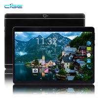 Free shipping Official 10.1 inch Android 7.0 Octa Core Tablet pc 3G 4G LTE smart phone 64GB ROM IPS WIFI bluetooth GPS Tablets