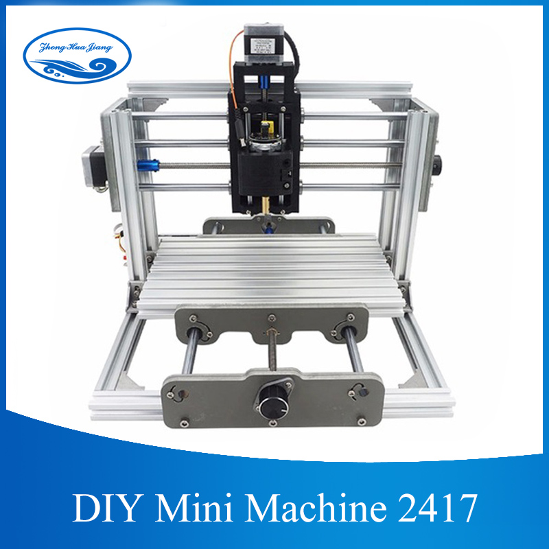 CNC 2417 DIY Wood Router 3 AXIS Mini PCB Milling Machine CNC Engraving Metal Carving Machine for GRBL Control cnc2417 diy cnc engraving machine 0 5w 5 5w mini pcb pvc milling machine metal wood carving machine cnc router grbl control
