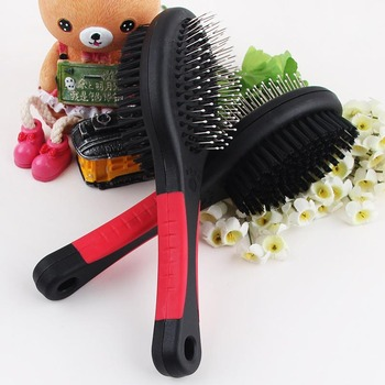 Double Faced Cat Comb Long Hair Brush 1