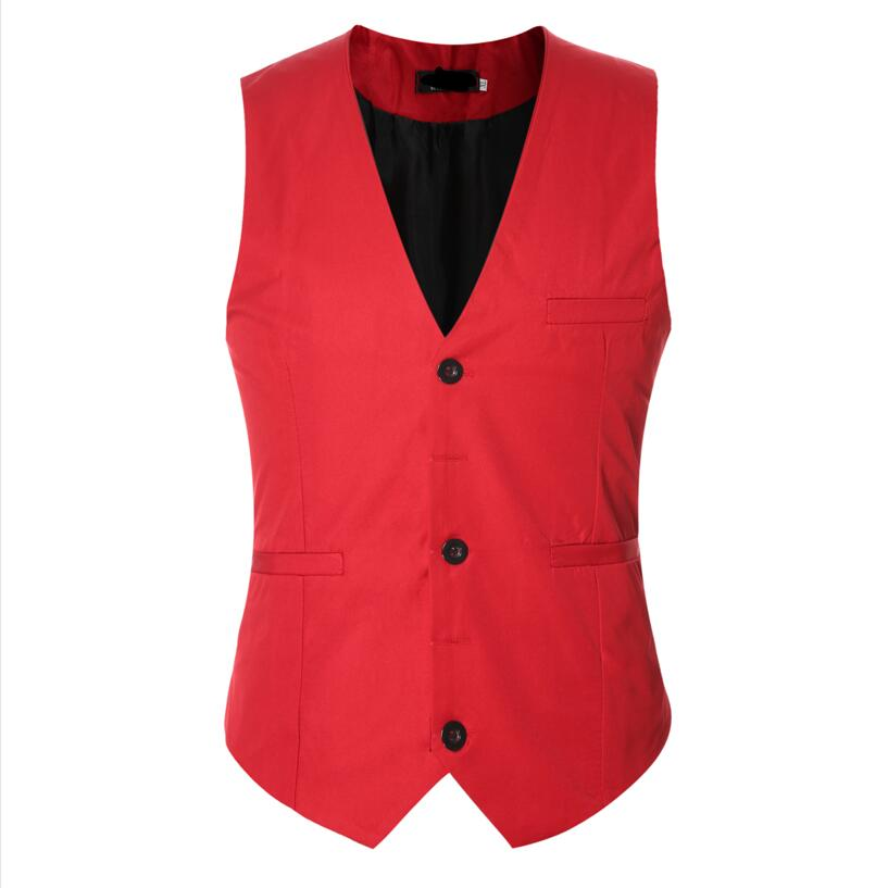 2017 Promotion New Arrival Blazer Men Men's Fashion Suit Vest Male More Solid Colors Single-breasted Mens High Quality Custom